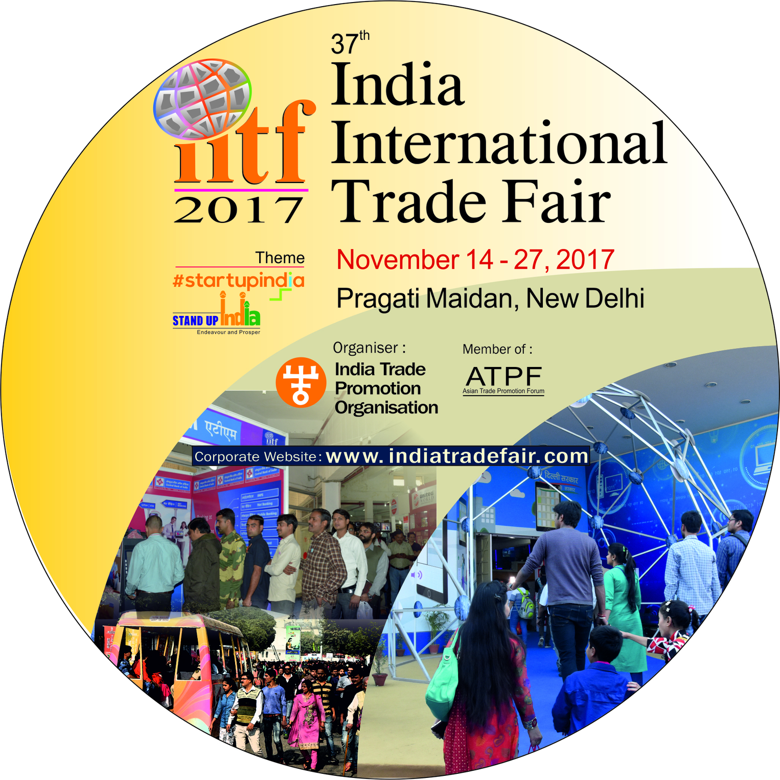 Expo Stands Trade Fair 2017 : Itpo iitf