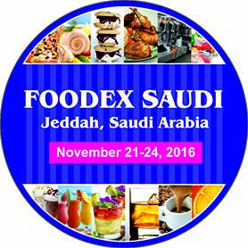 Foodex Saudi Jeddah, Saudi Arabia, November 21-24, 2016
