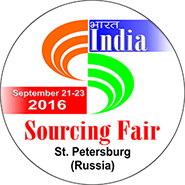 India Sourcing Fair, St. Petersburg (Russia) 2016